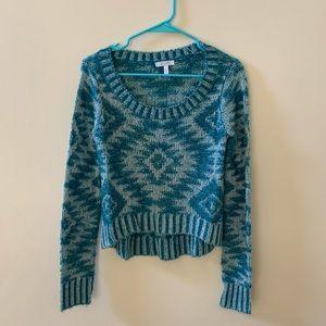 Delia's Blue Sweater Size M